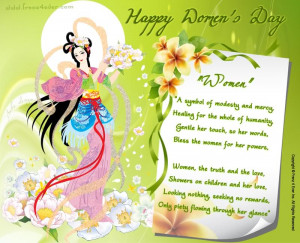 Frenz 4 Ever Wishes All our female members a very Happy Women's Day...