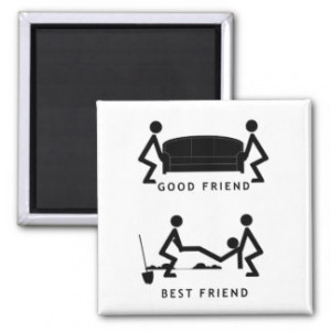 good friend best friend refrigerator magnets