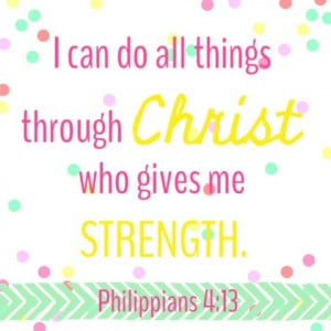 Bible Quotes About Staying Strong http://www.allglammedupstyle.com ...
