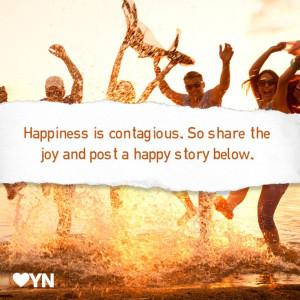 Share joy.