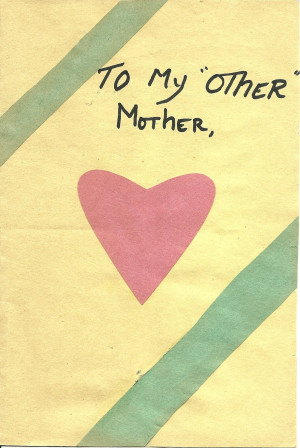 Missing Mom Quotes Mothers Day My daughter's mother's day card one ...