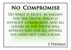 the meaning of compromise in a relationship