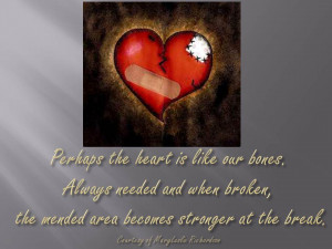 quotes about healing a broken heart