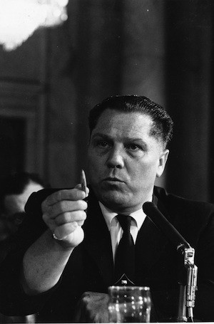Ten years after Hoffa disappeared, Marvin was at a four-day Teamsters ...