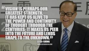 Li Ka-Shing Picture Quote