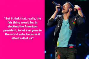 chris martin quote