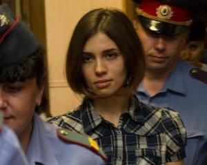 parole for Nadezhda Tolokonnikova on April 26, saying Tolokonnikova ...