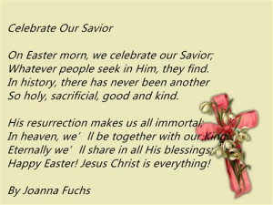 Best Christian Happy Easter 2015 Poems And Readings