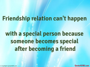 special friendship quotes