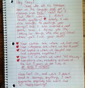 Quotes That Make You Feel Better After A Break Up Best breakup letter ...