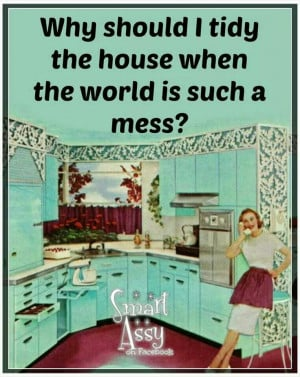 Clean up my mess??!!