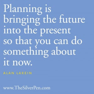 Picture Quotes About Life Tagged With: alan lakein quotes ...