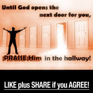 ... Graphics > God Quotes > until god opens the next door for you Graphic
