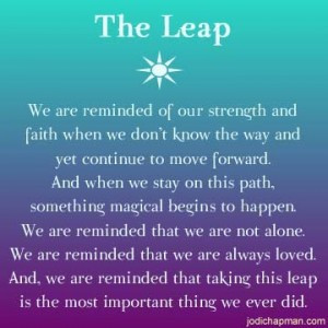 Jodi Chapman - The Leap