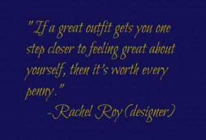 Rachel Roy quote