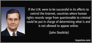 More John Doolittle Quotes