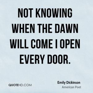 Emily Dickinson Quotes On Love