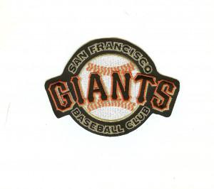 San Francisco Giants Secondary Sleeve Patch (Black)