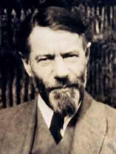 Max Weber in 1919 (Mohr Siebeck)