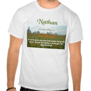 Nathan Name Meaning Shirt