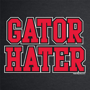 ... -Bulldogs-t-shirt-GATOR-HATER-funny-football-jersey-rivalry-soft-new