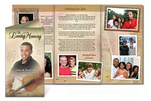 Funeral Programs Obituary