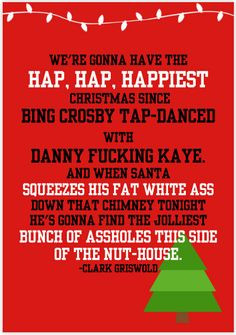 National Lampoons Christmas Vacation by SundayMorningCards on Etsy, $4 ...