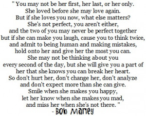 Don't Hurt Her, Don't Change Her, Don't Expect More Than She Can ...