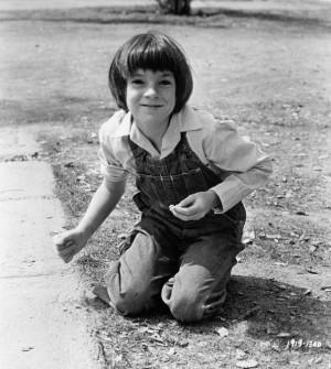 """Mary Badham in """"To Kill A Mockingbird"""" (1962)"""