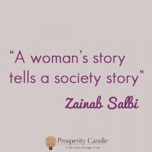 Words of wisdom from Zainab Salbi, founder of Women for Women ...
