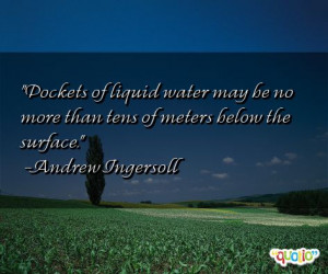 Water Pollution Quotes