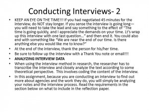 Interview Paper Apa Sample
