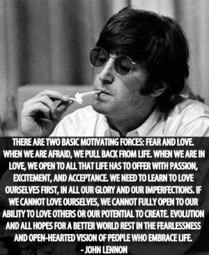 """Motivational Quotes By """"John Lennon"""" – 1"""
