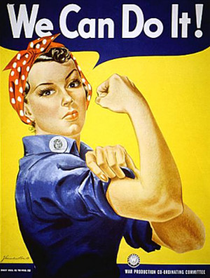 ... of women into the paid industrial workforce during World War II