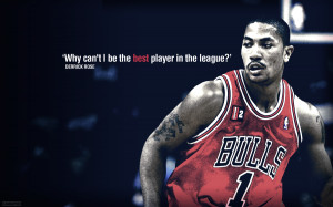 Derrick Rose Quotes Wallpaper Derrick rose wallpaper by