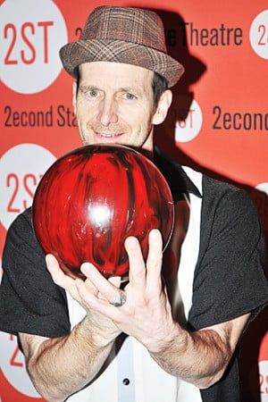 Dennis O'Hare out bowling with friends was asked about New Jersey ...