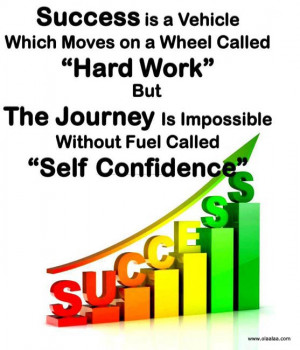 "Success Is a Vehicle Which Moves On a Wheel Called ""Hard Work"" But ..."