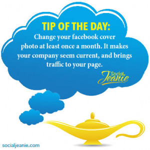 Tip of the Day- cover photo