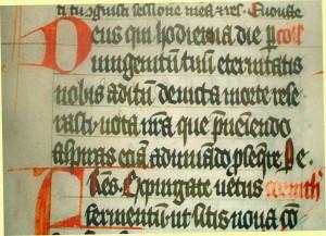 Messbuch der Marienkirche in Stargard