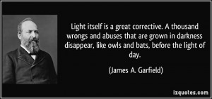 More James A. Garfield Quotes