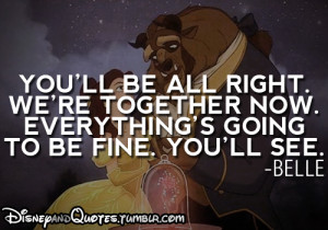 Beauty And The Beast Disney Movie Quotes
