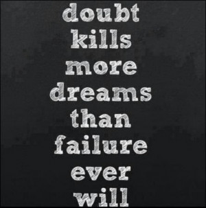 Believe in YOU and YOUr dreams!