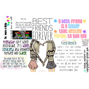 Girly best friend quotes quotesgram - Girly myspace quotes ...