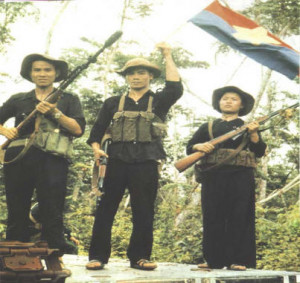 Viet Cong about to fire