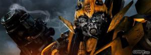 Bumblebee Transformers facebook cover
