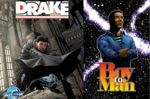 Drake, on the cover as Batman and inside a new comic book release ...