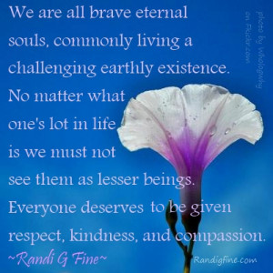 Quote About Respect, Kindness, and Compassion