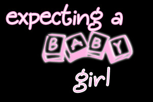 expecting a baby girl Image