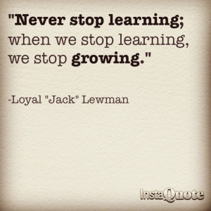 Quotes Learning Growing