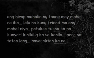 Quotes about change and love tagalog